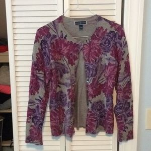 Never been worn flower cardigan